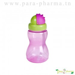 CANPOL BABIES Tasse sport avec paille à rabat